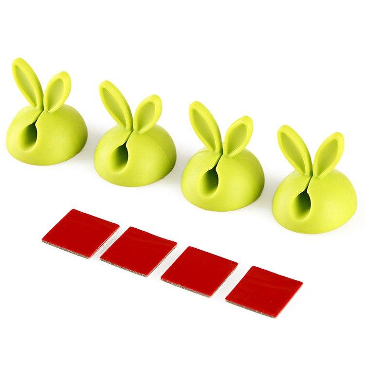 Orejas de conejo de línea de datos de dispositivo fijo cable de gel de sílice organizador escritorio viscosa de alambre eléctrico automático dispositivo de venta al por mayor ODF005