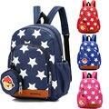 Детский Школьный рюкзак для девочек-подростков  пентаграмма  принт со звездой  рюкзаки  портфель для мальчика  Большой Вместительный детски...
