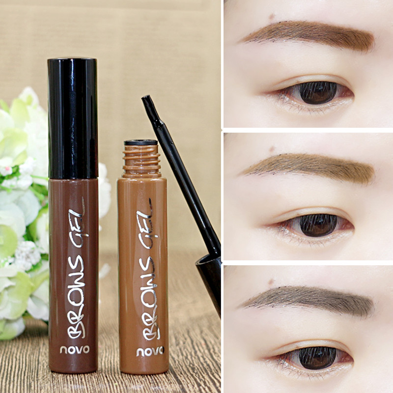 Makeup Eye Brow Penna Pen Tattoo Tint Ögonbryn Förstärkare - Smink - Foto 6