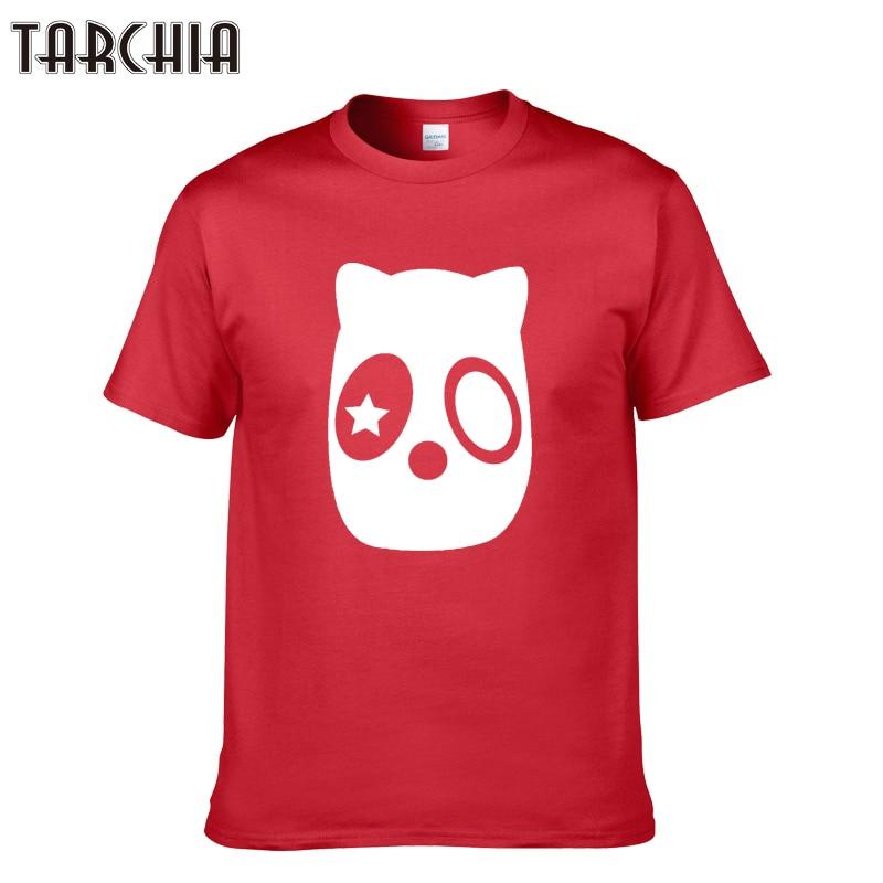 TARCHIA 2019 Summer Fashion Brand Menswear Cute Print Short Sleeve T Shirt Men Casual O Neck Tees Tops Luxury Undershirt Homme