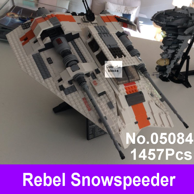 2017 New Lepin 05084 1457Pcs Star Series UCS Wars Rebel Bricks Snowspeeder Model Building Kit Blocks Compatible With 10129 Toys lepin 05035 star wars death star limited edition model building kit millenniums blocks puzzle compatible legoed 75159