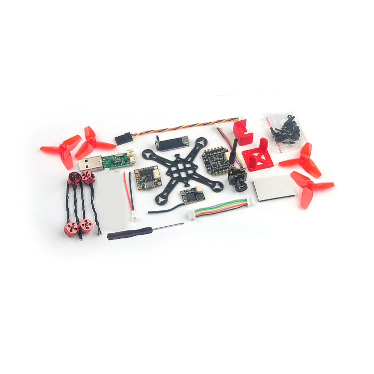 Ultra-light FPV Happymodel Trainer66 Frame Assembly Kit with D40 Propeller+6A ESC+600TVL Camera+ReceiverUltra-light FPV Happymodel Trainer66 Frame Assembly Kit with D40 Propeller+6A ESC+600TVL Camera+Receiver