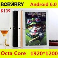 BOBARRY K109 4G LTE Android 6.0 10 zoll tablet pc Octa-core 4 GB RAM 64 GB ROM 8 Kerne 5MP IPS Kinder Geschenk Besten Tabletten computer