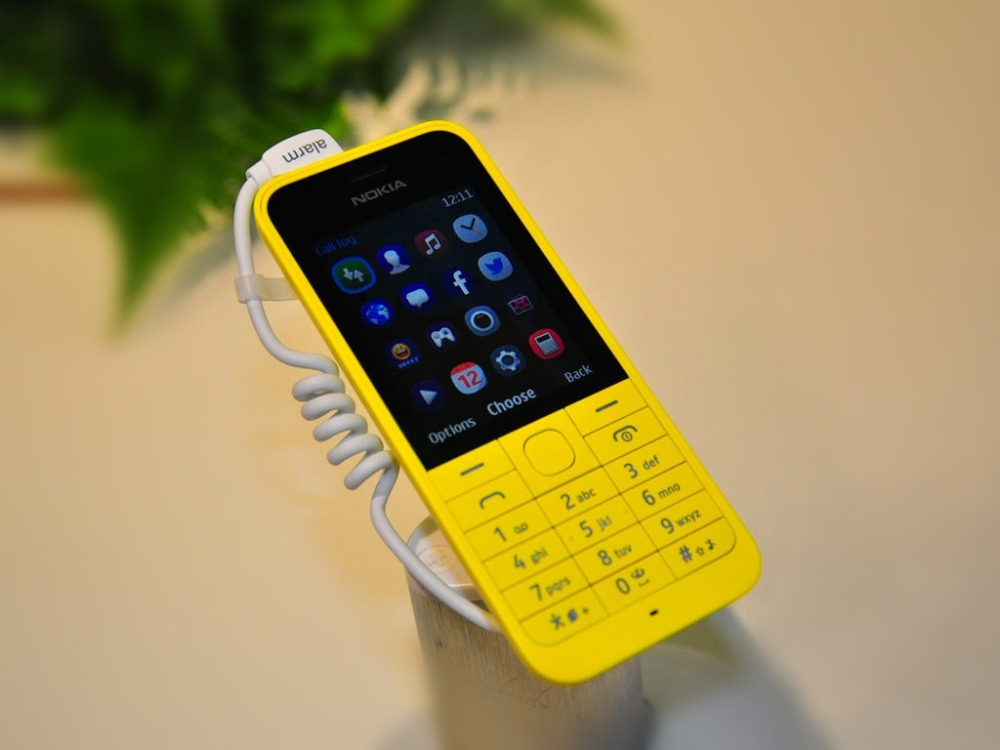 NEW smart phone Nokia 220 Single Dual SIM RM-969 RM-970 2MP Bluetooth Radio GSM 900/1800 dual sim card white 3