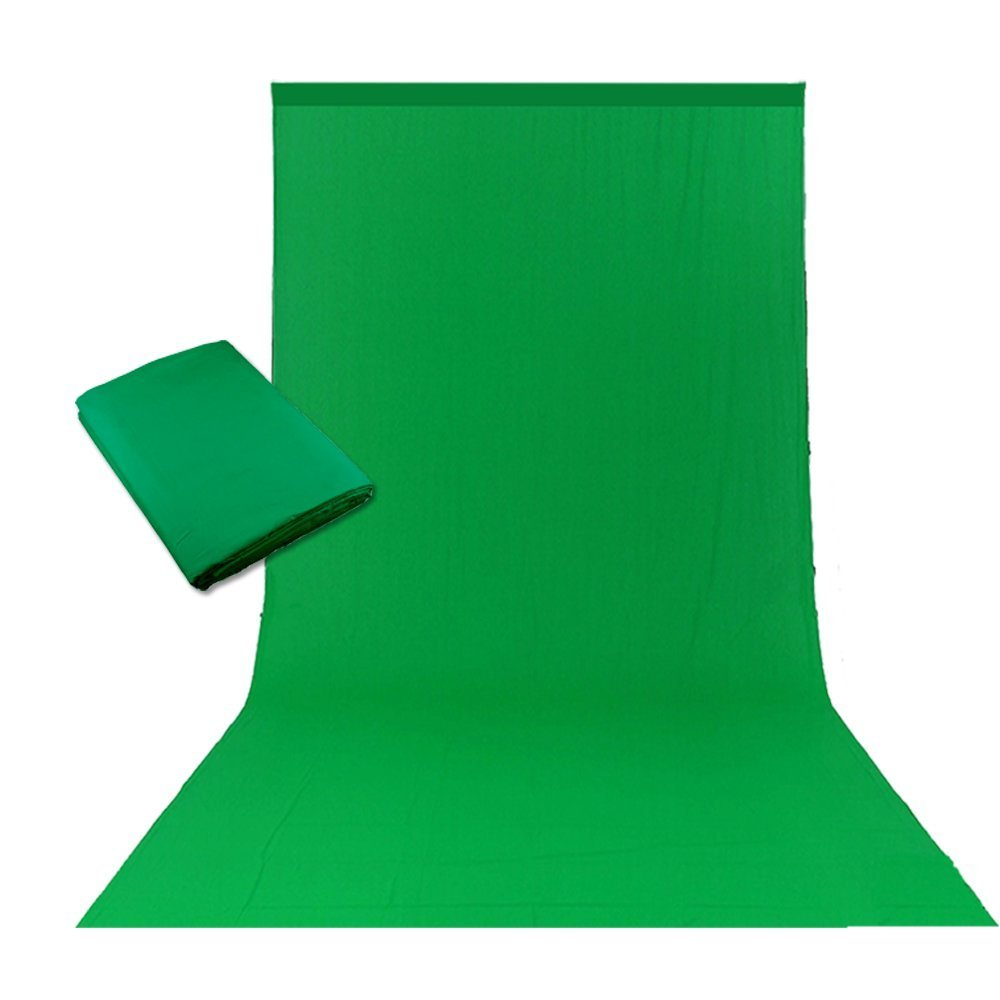 Photography 3x6M Cotton Muslin Backdrop Seamless Photo Studio For Background Video Shooting Needed Green cd5 1pc 150w 220v 5500k e27 photo studio bulb video light photography daylight lamp for digital camera photography