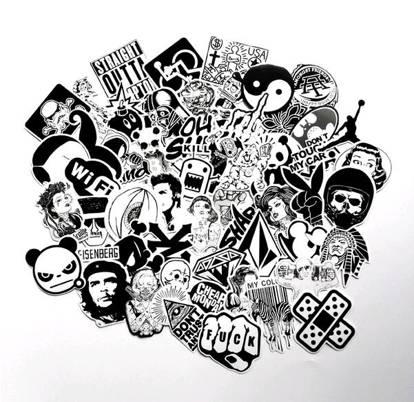 60 pcs Mixed funny hit stickers for kids Home decor jdm on laptop sticker decal fridge skateboard doodle stickers toy Pegatinas