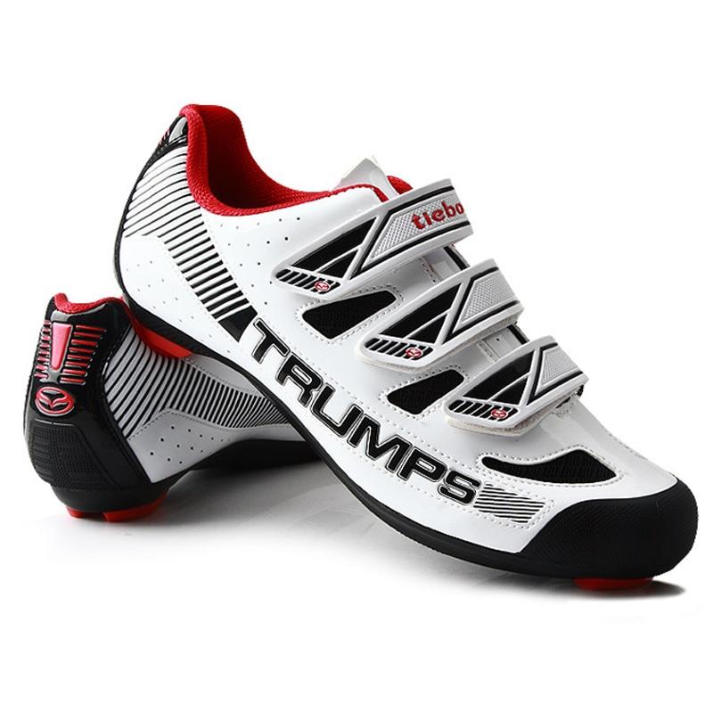 Tiebao Cycling Shoes For Women & Men Winter Cycling Raod bike Self-locking Shoes Bicycle Boot Sapatilha Ciclismo Zapatillas tiebao cycling shoes for women