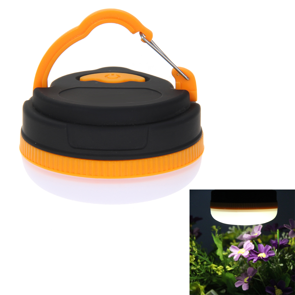 Outdoor 180Lm Hiking Camping LED Night Light Portable 5 Modes LED Lantern Tent Lamp AAA Battery Operated