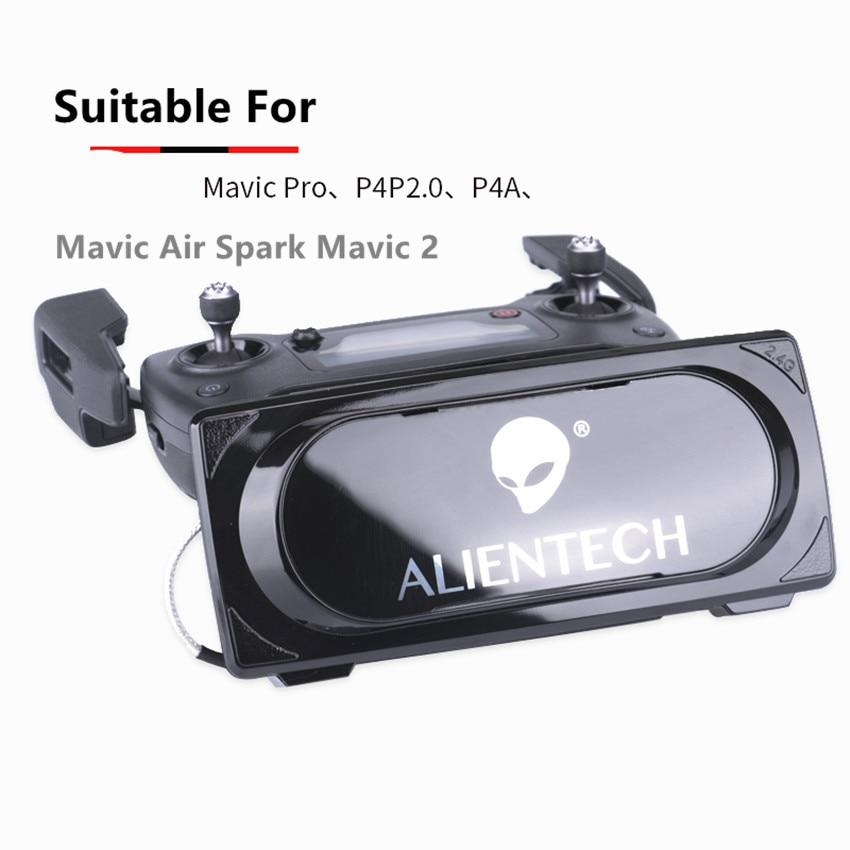 ALIENTECH 3 2.4g Antenne Signal Booster Range Extender pour DJI Mavic Pro/Phantom 4 Pro V2.0 Mavic 2 pro quadrocopter avec caméra
