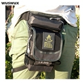 WUSWUX 2016 new fashion multifunction waterproof nylon waist bag casual men bag travel bag motorcycle leg package waist pack men