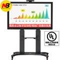 Алюминиевый сплав NB AVF 1800-70-1P ТВ Мобильная тележка Бесплатная доставка 55