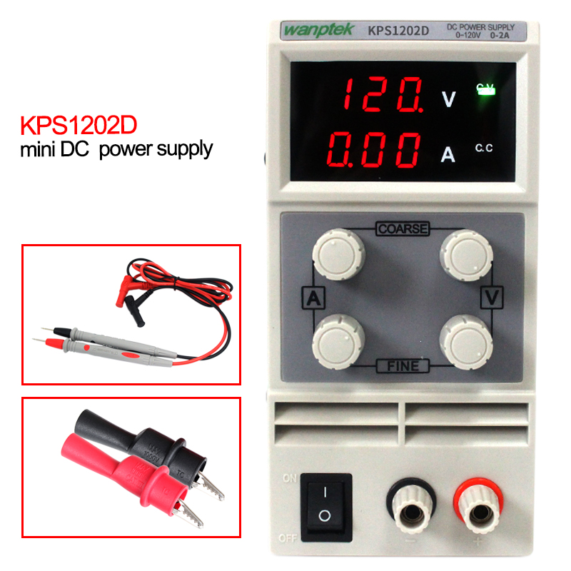 New Digital Precision DC Power Supply Adjustable Stable Lab Grade Input AC110V 50Hz/60Hz Output 120V 2A laboratory power cps 6011 60v 11a digital adjustable dc power supply laboratory power supply cps6011