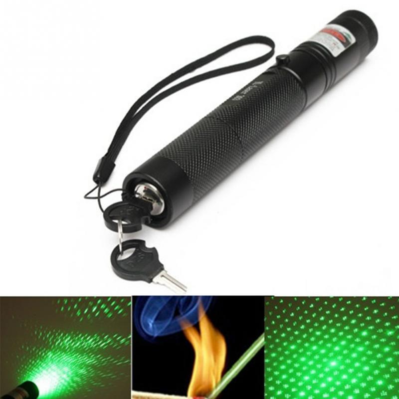 G303 Green Power Green Laser Pointer Star Cap Gazing Pen 2 In 1 Beam Light Lazer High Quality