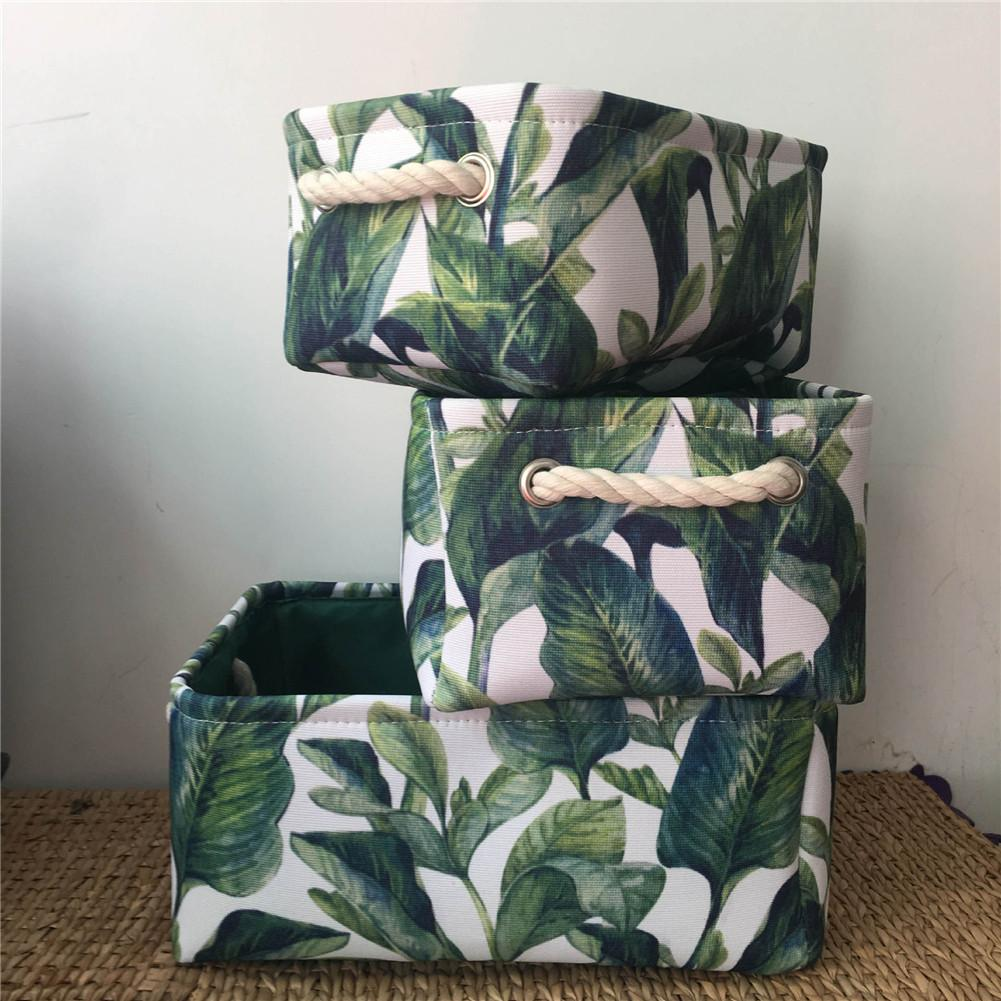 CHUWUJU Cotton Linen Storage Basket Box Foldable Nordic Style Laundry Barrel Bag Sundries Holder Magazine For Home