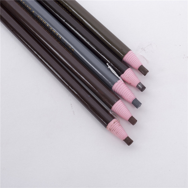 6 Colors Eyebrow Pencil Free Cutting Natural Long Lasting Black Brown Coffee Microblading Permanent Waterproof Eyebrow Make Up 4