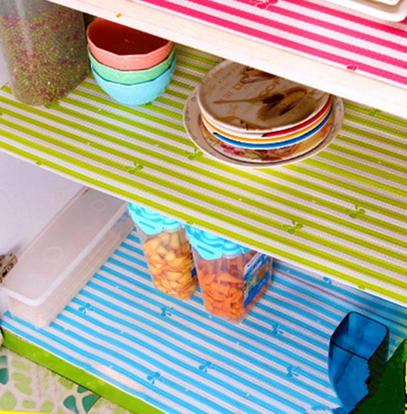 waterproof kitchen antibacterial paper pet plastic placemat table decoration rectangle drawer fridge mat 300 x 30cm 200 x 45cm - Kitchen Table Mats