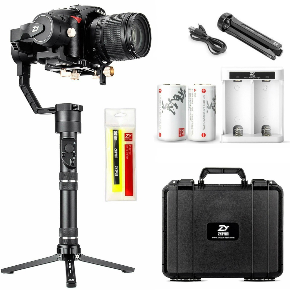 Zhiyun Crane Plus 3 Axis Handheld Gimbal Stabilizer for DSLR Mirrorless Camera Sony A7 Panasonic LUMIX Nikon J Canon M Series zhiyun crane m 3 axle handheld stabilizer gimbal remote controller case for dslr camera support 650g smartphone camera f19238 a