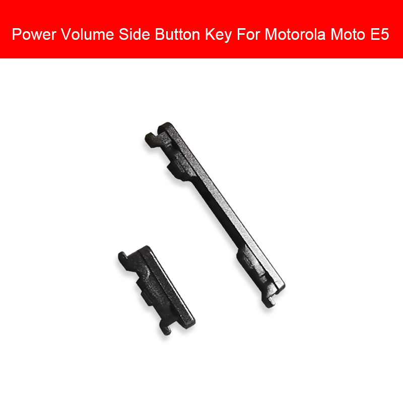 1 Set Volume Power Side Button For Motorola Moto E5 E (5th Gen)  On/off Power Volume Switch Side Keypad Replacement Repair Parts