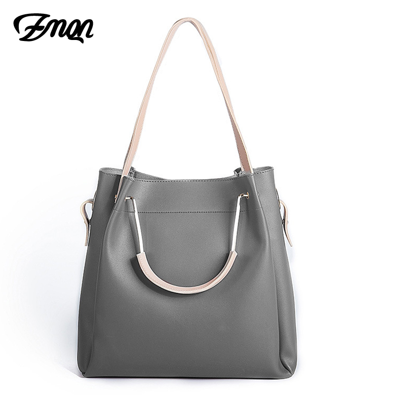 ZMQN Women Handbags Of Famous Brands Bucket Bags 2 Sets High Quality Designer Crossbody Bags For Women PU Leather On Sale A817 2018 vintage bucket bags handbags women famous brands designer high quality pu leather women shoulder bag bolsos bolsa feminina