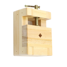 все цены на Wooden Portable Small Jewelry Clamp On Table Bench Vise Jaw Vice Engraving Wood Table Bench Vise for DIY jewelry making онлайн