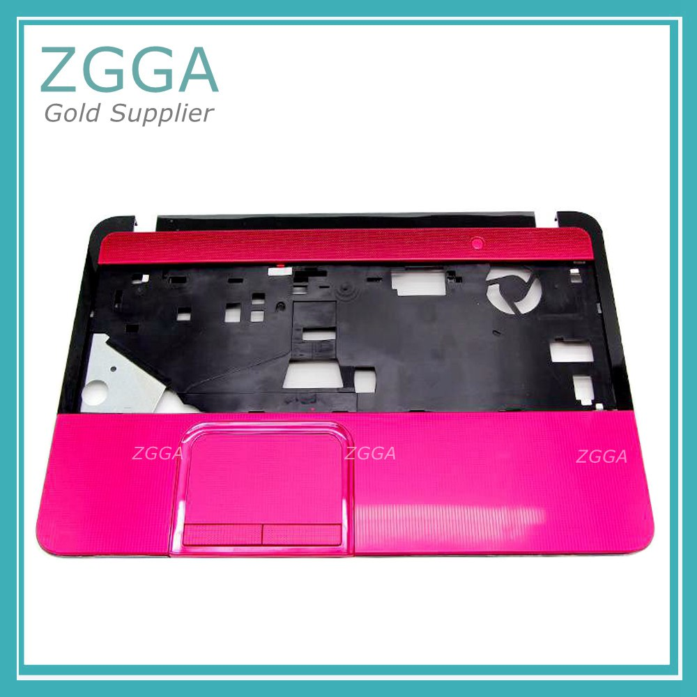 все цены на Original New Notebook Upper Case For Toshiba Satellite L850 Universal Laptop Keyboard Shell Palmrest Cover Red Without Touchpad