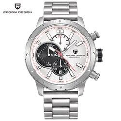 Relogio Masculino PAGANI DESIGN Watch Waterproof Military Army Chronograph Sport Quartz Wrist Watch Man Clock Men Saat Calendar