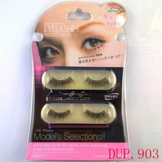 [Top quality] Free shipping,30box/lot (4 pairs/box with glue) Japan KOJI Dolly Wink diamond eyelash(DUP.903)