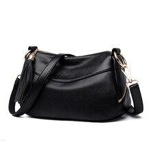 2019 Women Messenger Bags Handbags Shoulder Bag Female Top-handle Sac A Main Vintage Tote For Girls Tassel Letter Crossbody Bag