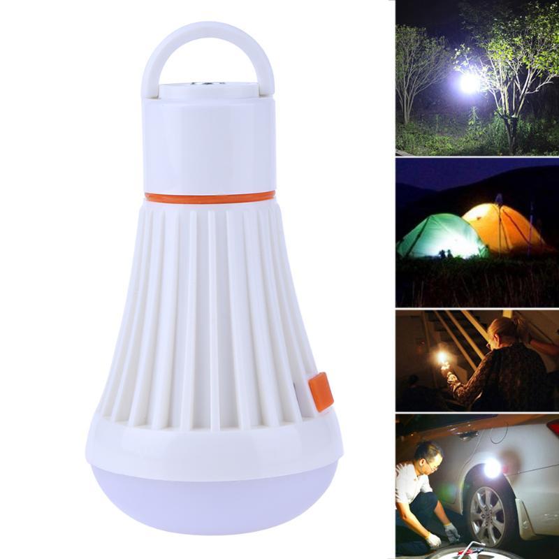 Outdoor Magnet Portable Light Hanging LED Camping Hiking Tent Flashlight Bulb Fishing Lantern Lamp Emergency Lighting New