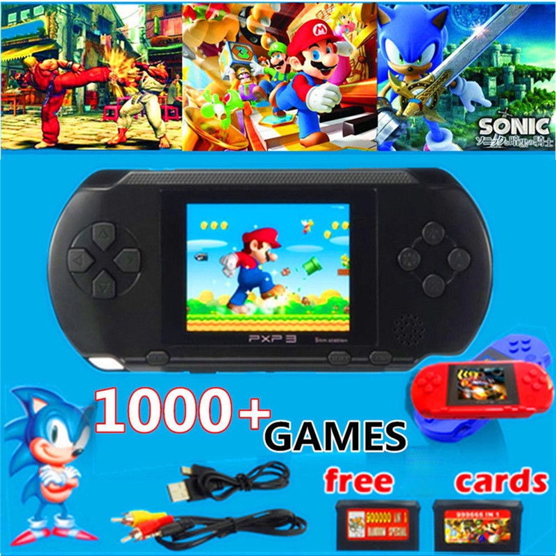Handheld Game Console 16 Bit Portable Classic Game Console LCD Game Player  Brain Game For Children Boy Girl Kid D4