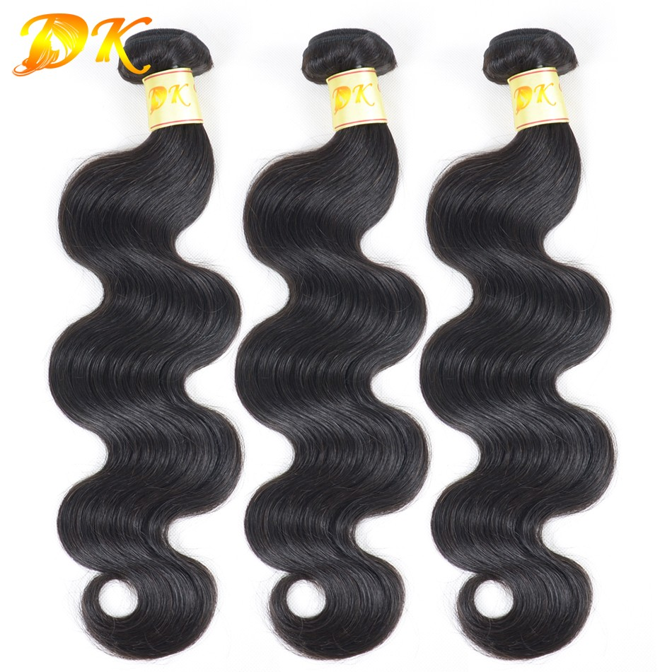 6A Brazilian Virgin Hair Body Wave 3 Bundles 100% Human Hair Weave Bundles 7A Unprocessed Virgin Hair Brazilian Body Wave Hair