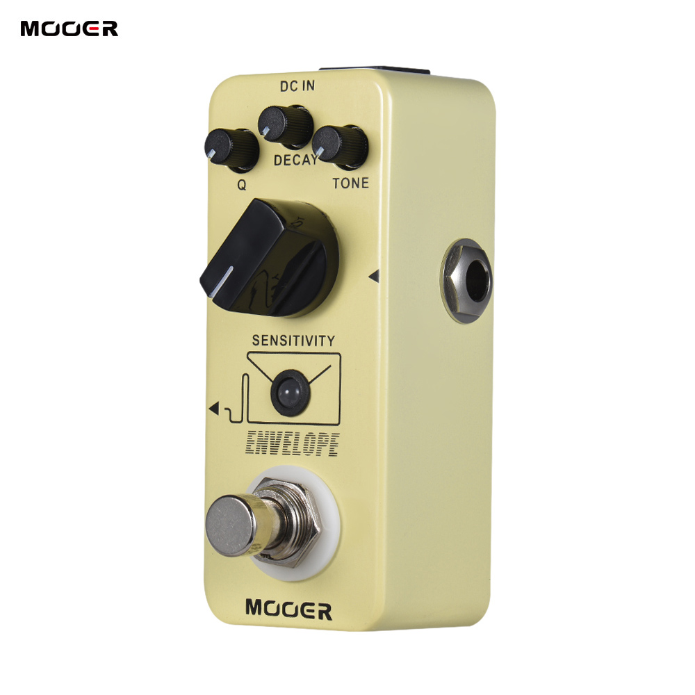 buy mooer envelope analog auto wah guitar effect pedal true bypass full metal. Black Bedroom Furniture Sets. Home Design Ideas