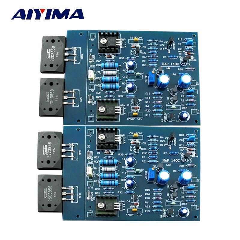 AIYIMA NAIM NAP140 AMP CLONE KIT 2SC2922 amplificateur de puissance carte Amplificador Kits AMP pour bricolage 2.0 canaux J163 - 2