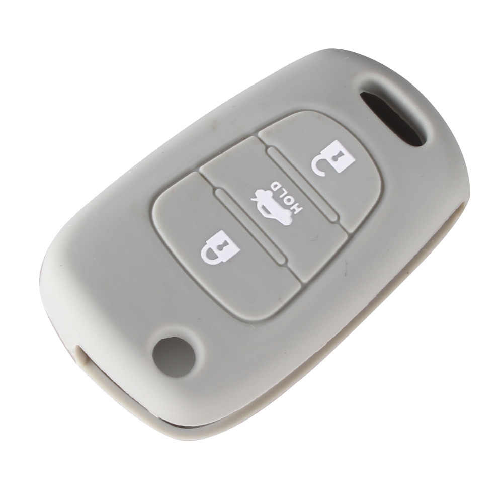 DANDKEY 3BTN غطاء مفتاح سيارة سيليكون الحال بالنسبة لكيا ريو K2 K5 سبورتاج سورينتو لشركة هيونداي i20 i30 i35 iX20 iX35 سولاريس فيرنا