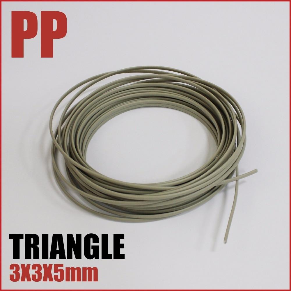 En plastique de soudage tige PP polypropylène pare-chocs de voiture réparation soudure bar fil à souder bâton câblage dent soudure charge auto carrosserie