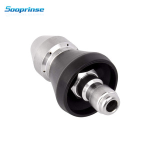 Image 3 - Sooprinse Pressure Washer Sewer Jetter Nozzle Drain Cleaning Water Jetter 5000 PSI 1/4 3/8 Quick Disconnect Plug