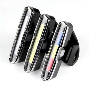 Image 3 - Передний и задний велосипедный фонарь с зарядкой через USB, светодиодный задний фонарь на литиевом аккумуляторе для велосипеда, светильник для шлема, крепление, велосипедные аксессуары