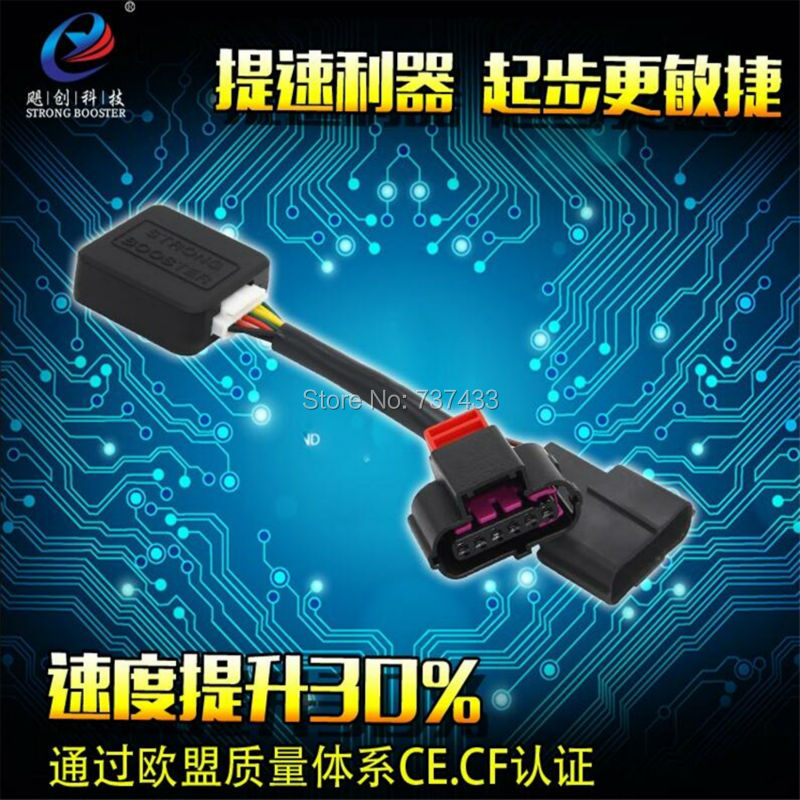 Спортивный режим Авто мощным руля автомобиля привод электронный контроллер дроссельной сильный Booster Скорость чехол для KIA K3 Рио Elantra 1.6 и т. д...