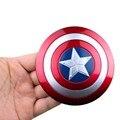 10cm Captain America Shield Replica metal 1:1 toy for kids 2016 New Captain America Civil War shield 1:1 cosplay metal Christmas