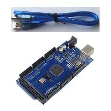 5pcs for Arduino Mega 2560 R3 ATmega16AU Development Board + USB Cable Diy Starter Kit ATmega2560 Mega2560 Atmega