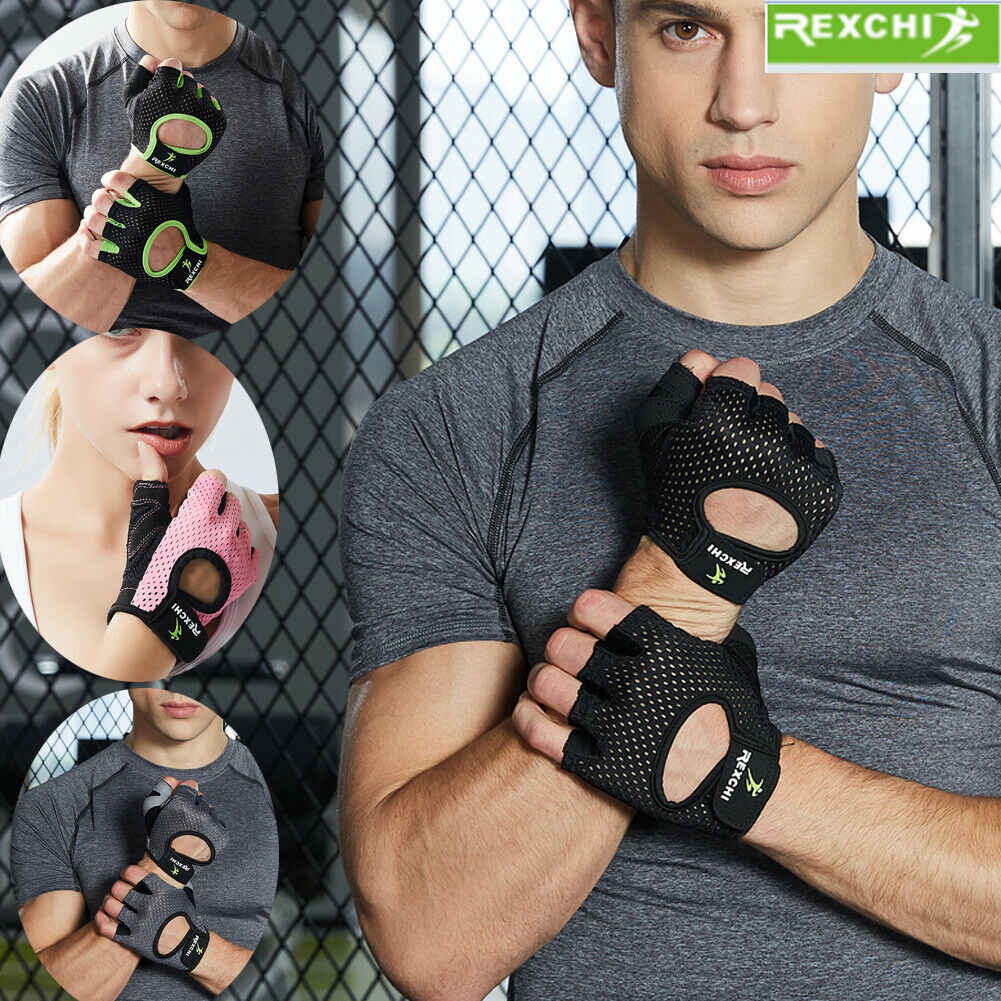 2019 Newest Hot Wrist Wrap Support Gym Gloves For Weight Lifting/Sport/Training/Workout/FitnessN