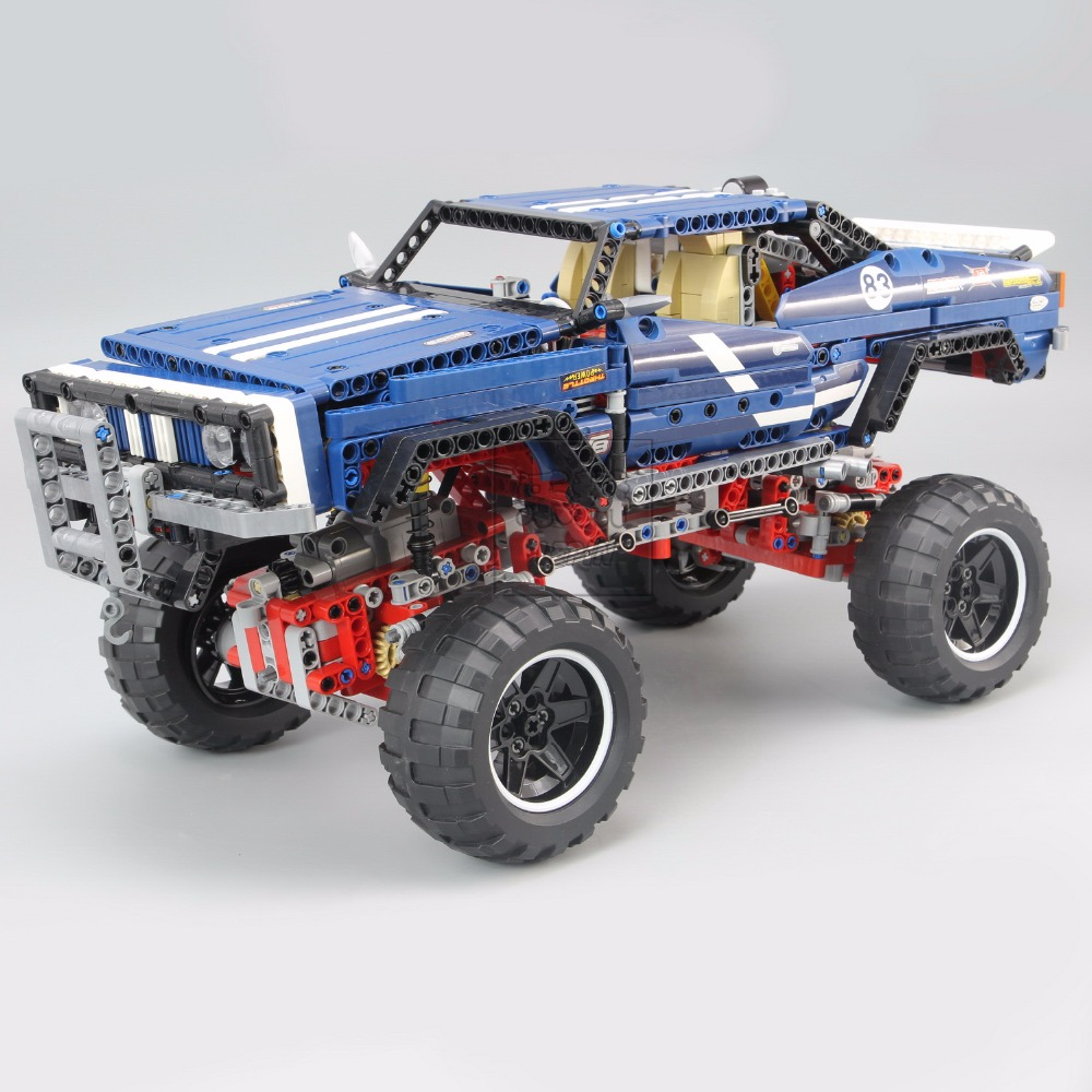 New lepin 20011 technic remote control electric off road vehicles 1605pcs building block toys compatible