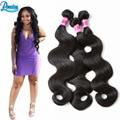 Peerless Peruvian Virgin Hair Body Wave 7A Grade Peruvian Virgin Hair 1 Bundles Peruvian Body Wave Hair Extensions Weave Bundles