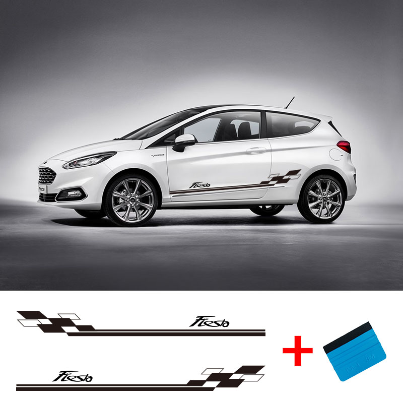 Fiesta//Car Stickers//decals//Set of 2