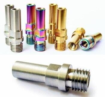 10pcs Titanium TC4 V Brake Bosses / Post  M10 (10mm) /  M8 (8mm) x 1.25Pitch High Strength Light Weight Beautiful Surface