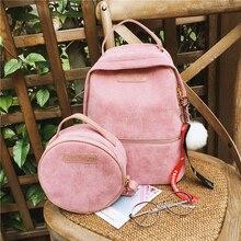 Cute Backpack for Women High Quality Nylon Kawaii Large Capacity School Bag Bookbag Simple Shoulder Bags 2019