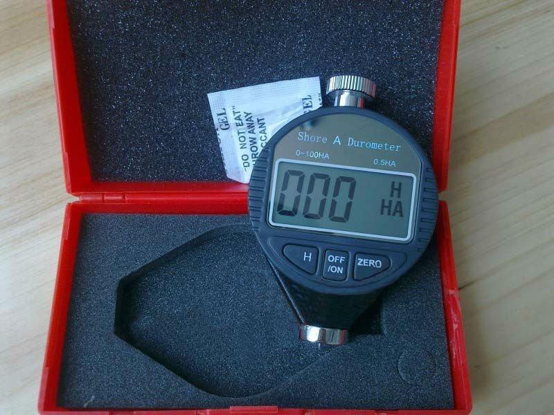 0 ~ 100ha Digitale Shore A Tester Härte Meter Durometer Seien Sie Im Design Neu