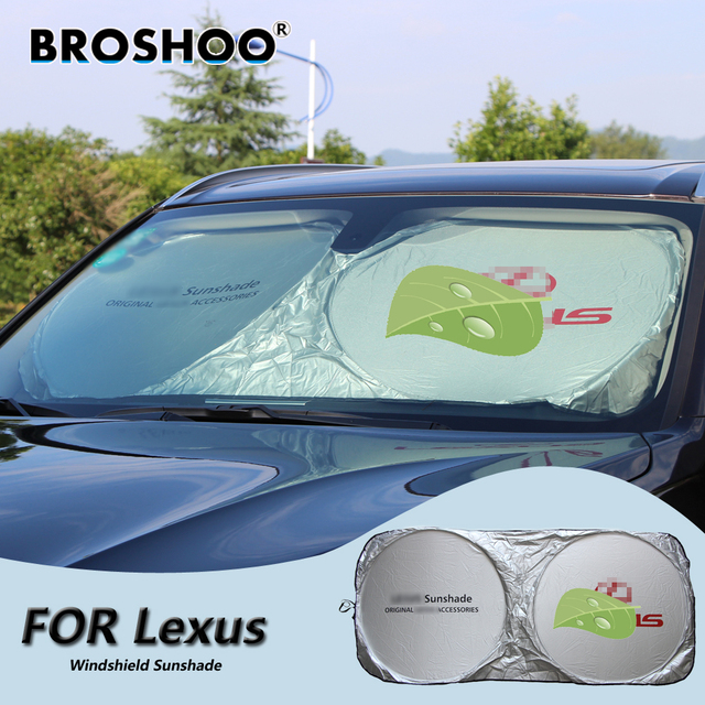 BROSHOO Car Windscreen Sunshade Front Window Sun Shade Windshield Visor  Cover For Lexus RX400H IS250 RX300 bd48ff9f2ff