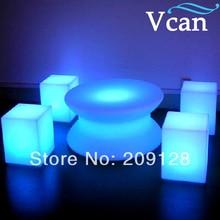 RGB LED Lighting remote control Garden Chair 30 30 30cm VC A300
