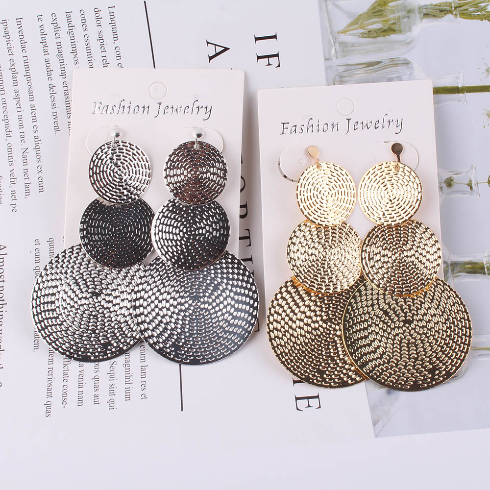 JIOFREE Long gold Clip on Earrings For Women Vintage Earrings Without Piercing for Girls Kid Party Ear Clip